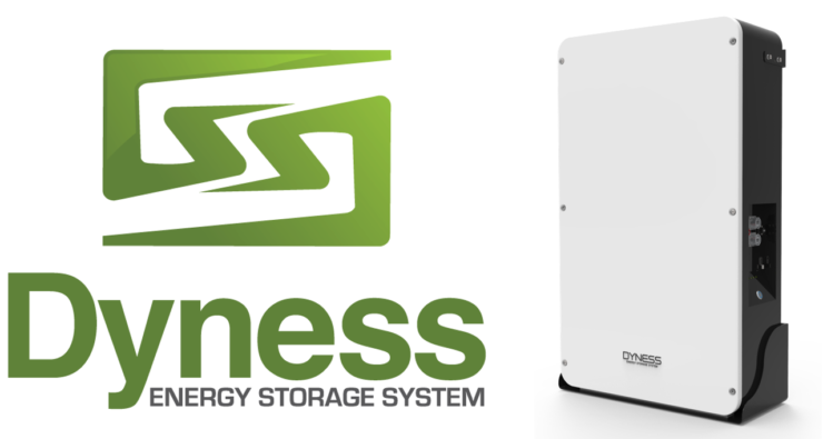 Dyness battery compatible with IMEON hybrid inverters
